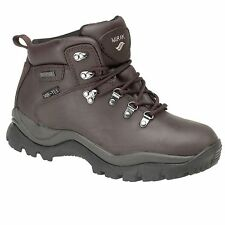 bd563569db9 Mirak Nebraska Crazy Horse brown waterproof non-safety Hiker boot size 7-12