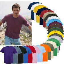 5x Fruit of the Loom Valueweight T Herren T-Shirt  Gr. S - 5XL