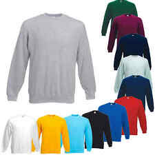 Fruit of the Loom Set-in Sweat Shirt Herren Pullover Arbeitspullover Gr.S - XXXL