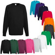 Fruit of the Loom, Lightweight Raglan Sweat, Arbeits Pullover, Gr. S -XXL