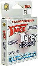 fluorocarbon pure take ultraclear pesca in mare fiume lago spinning tremare INA