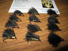 4 V Fly Size 10 Ultimate Super RV Cormorant Trout Flies 5 Options
