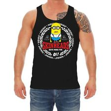 Träger Achsel Muskel Shirt Tank Top Skinheads have more fun oi ska 69 boots punk
