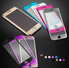 3D Titanium Full Coverage Tempered Glass Screen Protector for iPhone 6 iphone 7