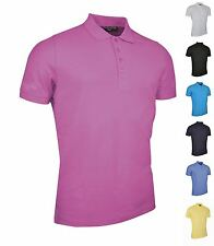 Glenmuir Mens Golf Polo Shirt Short Sleeve 100% Cotton Casual Sports Top Kinloch