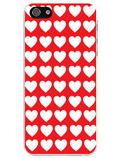 LOVE HEART THEMED MOBILE iPHONE CASE - Novelty / Fun - 4/4S, 5/5S, 6/6 Plus