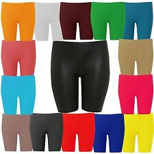 New Womens Plus Size Hot Pants Knee Cycling Shorts Tights 16-26