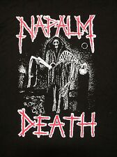 NAPALM DEATH reaper short sleeve shirt sore throat unholy grave carcass