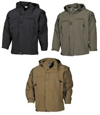US Protective Softshell NIVEL 5 Chaqueta Ejército impermeable cortavientos BW