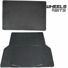 BMW 3,5,6,7,8 Series X1 X3 RUBBER CAR BOOT LINER MAT UNIVERSAL PROTECTOR L OR XL