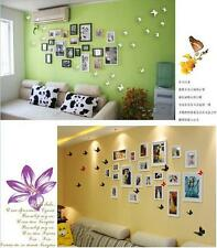 12pcs 3D Wall Sticker Butterfly Art Home Decor Room Decoration Stickers UK Sell