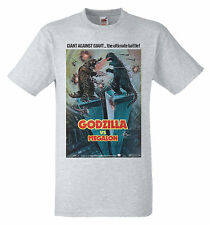 Godzilla vs. Megalon (1973) B film poster Retro 70s T-shirt