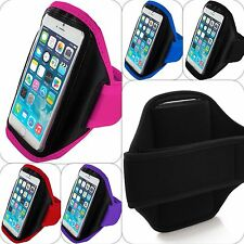 For iPhone 5 5s 5c 6 4 4s 6plus iPod Touch 5 Sport Running Arm Band Gym Jogging