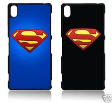 SUPERMAN LOGO SONY XPERIA Z1 Z2 Z3 Z4 MINI COMPACT COVER CASE CARCASA FUNDA