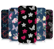 BUTTERFLY PATTERN COLLECTION HARD MOBILE PHONE CASE COVER FOR APPLE iPHONE 4 4S