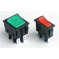 Illuminated Rocker Switches SPST / DPST Red or Green Illuminated Rocker Switch