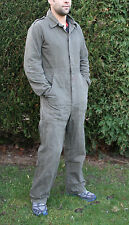 Military Dutch Army Mechanic Overalls Boiler Suit Used DIY Paintball Coveralls