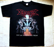 DISMEMBER LIKE AN EVERFLOWING STREAM 1991 DEATH CARCASS NEW BLACK T-SHIRT