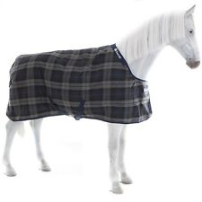 Bucas Celtic Stable Medium 150g - tartan/navy Stalldecke