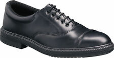 Tuffking 9072 S1P Black Steel Toe Cap Oxford Executive Safety Shoes Work Shoes