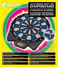 Unicorn Darts MK 2 Soft Electronic 8 Player LCD Dartboard & Soft Tip Darts Set