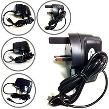 3 PIN MICRO USB UK MAINS CE ROHS AC WALL CHARGER FOR LATEST MOBILE PHONES UK UK