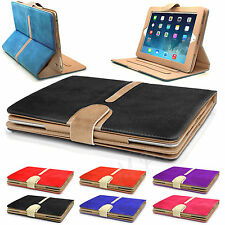 New Suede Leather Smart Book Case Cover for iPad AIR 5 6 4 3 2 Mini1 2 3 4Retina