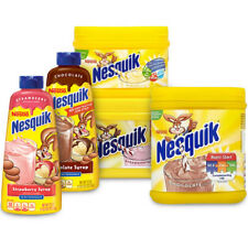 Nesquik milkshake mix  all flavors (variation listing)