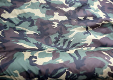 CAMOUFLAGE DPM ARMY PATTERN POLYESTER FABRIC MATERIAL CLOTH CAMO