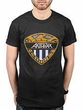 Official Anthrax Eagle Shield NEW T-Shirt Band Metal Metallica Slayer Megadeth