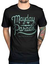 Official Mayday Parade Script T-Shirt A Lesson in Romantics Stay Derek Sanders