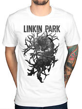 Official Linkin Park Antlers T-shirt con stampa GRUPPO ROCK PUNK INDIE ventaglio