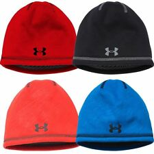 Under Armour Junior Storm Elements 2.0 Fleece Beanie Boys Golf Hat