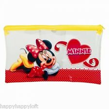 MINNIE MOUSE LARGE PENCIL CASE PARTY BAG STOCKING FILLERS DISNEY GIFTS