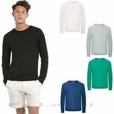 B&C, Raglan Sweat Reef /Men, Herren Sweat-Shirt Arbeits Pullover, Gr. S -XXL