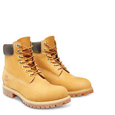 Timberland Mens 6 - Inch Premium Wheat Waterproof Boots 10061
