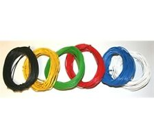 10m 1/0.6mm Solid Equipment Wire - Choice of  Colours - Layout - Connecting