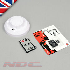 SMOKE ALARM Hidden Mini DVR Video Recording Spy Camera CCTV Nanny HD SpyCam