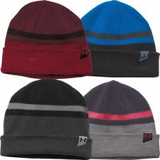 SALE!!! 58% OFF Under Armour Mens UA ColdGear 4-in-1 Reversible Beanie Golf Hat