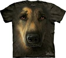 THE MOUNTAIN: T-Shirt - deutscher Schäferhund, German Shepherd, S, M, L, XL, 3XL