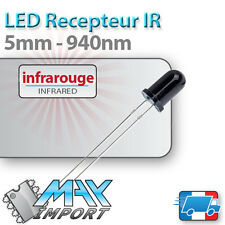 Recepteur Infrarouge - 940nm - LED 5mm (infrared receiver - IR)