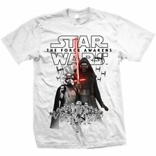 Star Wars Ep VII The Force Awakens Official Printed T-shirt - New Villains