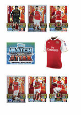 Match Attax 2015/16 Trading Cards. Individual Base Cards Arsenal 20-35