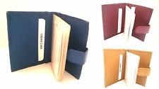 Leather Credit Card wallet--Leather Credit Card Holder/Credit Card Cover-20 Flap