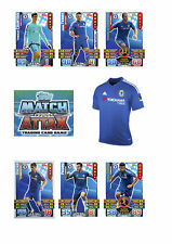 Match Attax 2015/16 Trading Cards. Individual Base Cards Chelsea 56-72