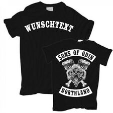 T-Shirt Sons of Odin TEXT WUNSCHNAME individuell Wikinger vikings Walhalla Thor