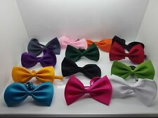 Womens Mens Kids Pets Bow Tie Easter Fancy Dress Party pre tied bow tie