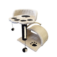 HERITAGE CAT SCRATCHER POST TREE ACTIVITY TOY CENTRE SCRATCHING POLE CLIMBING