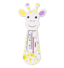 BATH THERMOMETER BABYONO 774 Baby Safety Floating Giraffe Thermomether Toy