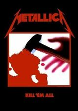 Metallica Kill Em All Textile Flag